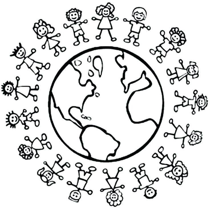 736x736 Christmas Around The World Coloring Pages Flags Of The World