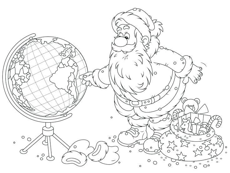 736x552 Christmas Around World Coloring Pages Christmas Around