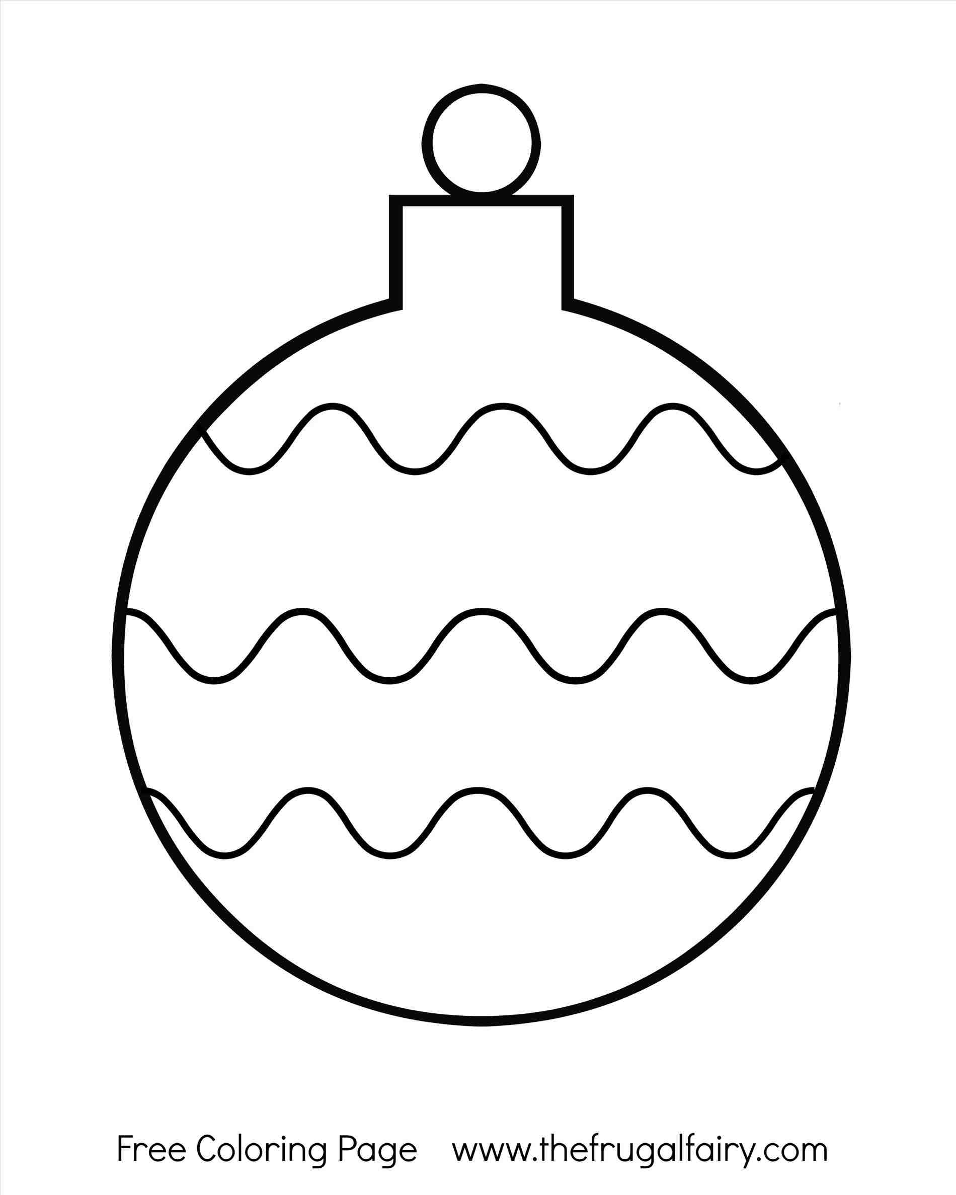photo relating to Printable Ornaments named Xmas Ball Ornaments Coloring Internet pages at