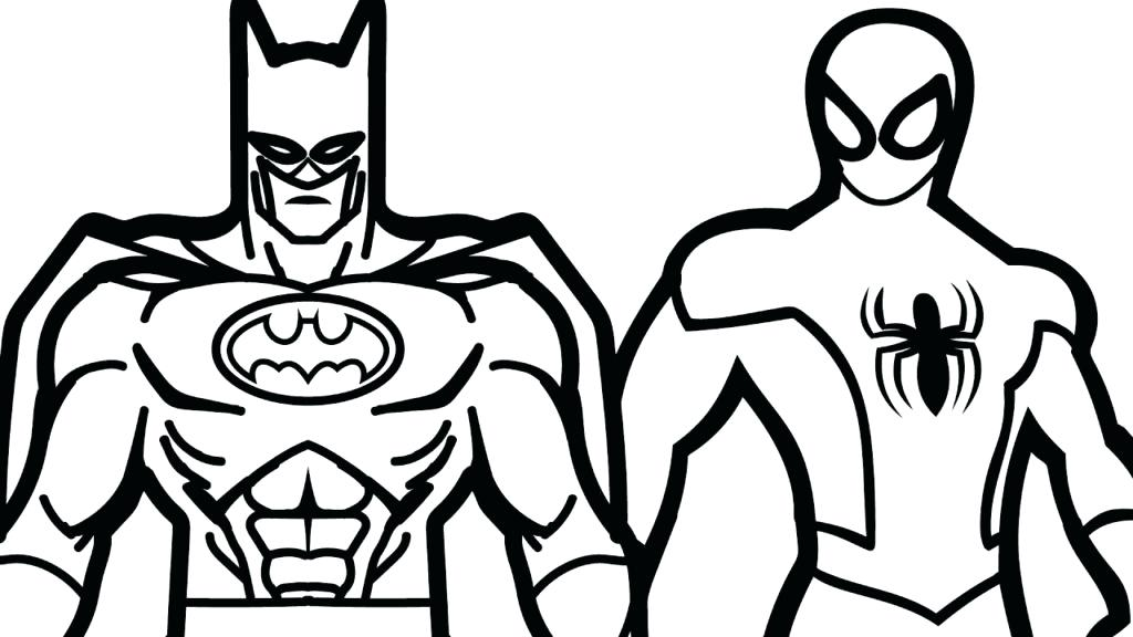1024x576 Coloring Pages To Print Batman Coloring Pages For Kids Colouring