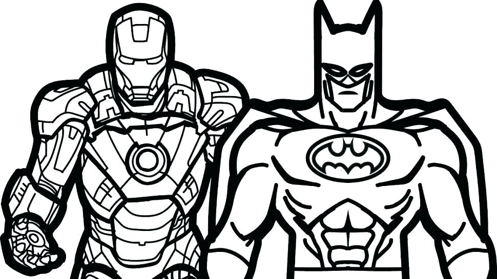 Christmas Batman Coloring Pages at GetDrawings | Free download