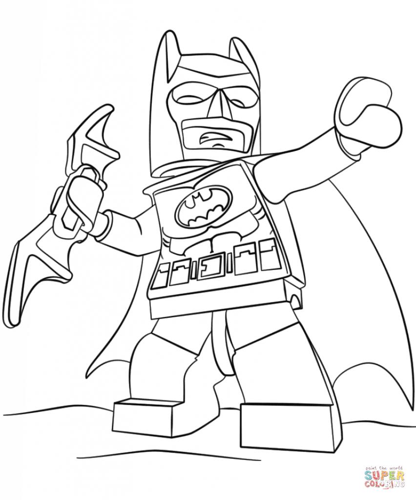852x1024 Joker Coloring Pages Printable My Image Sense With Batman Plan