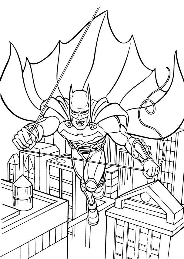 607x850 Superhero Coloring Pages Graysen's B Day Superhero