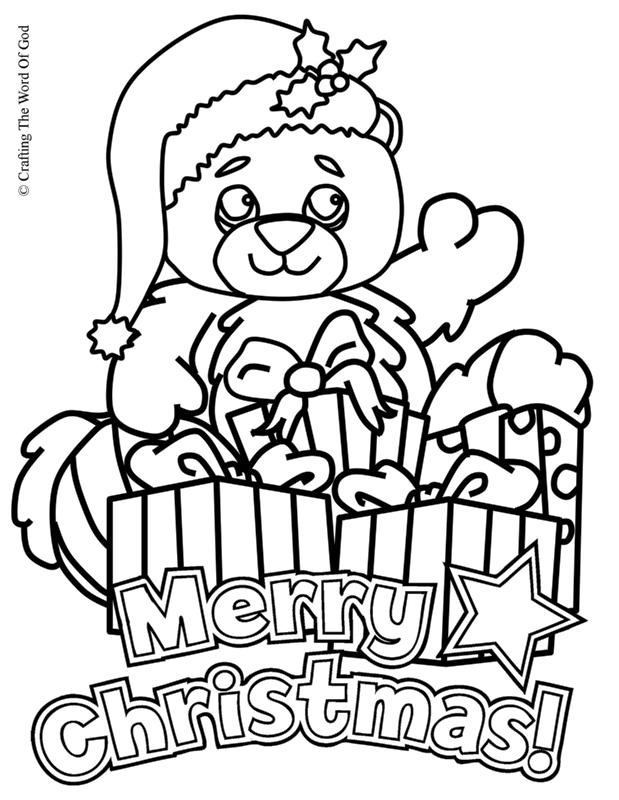 619x800 Christmas Coloring Page Crafting The Word Of God