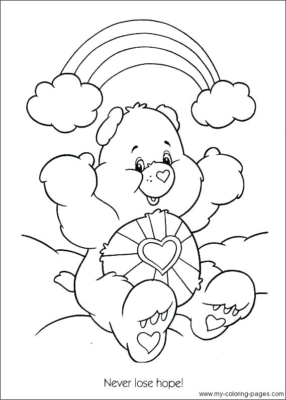 569x796 Coloring Pages Teddy Bears Teddy Bear Holding A Heart Drawing
