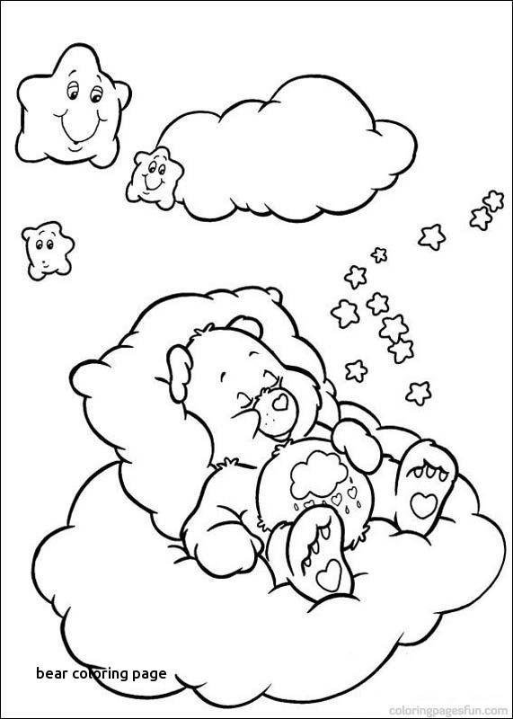 571x800 Elegant Christmas Care Bear Coloring Pages Bear Coloring Page