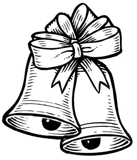463x540 Christmas Bells Coloring Pages Part