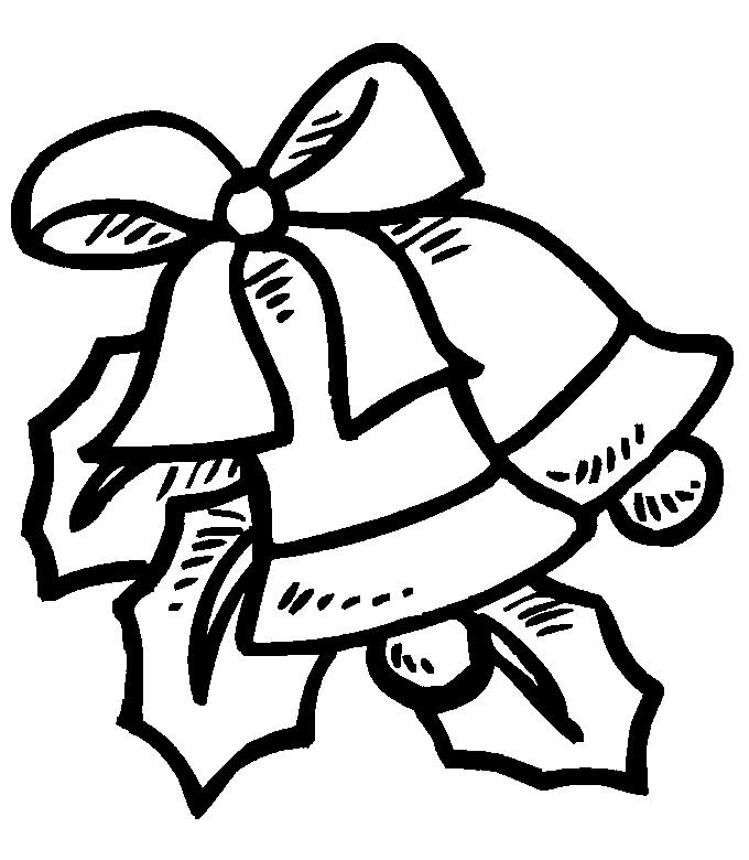 680x780 Christmas Bells Coloring Page