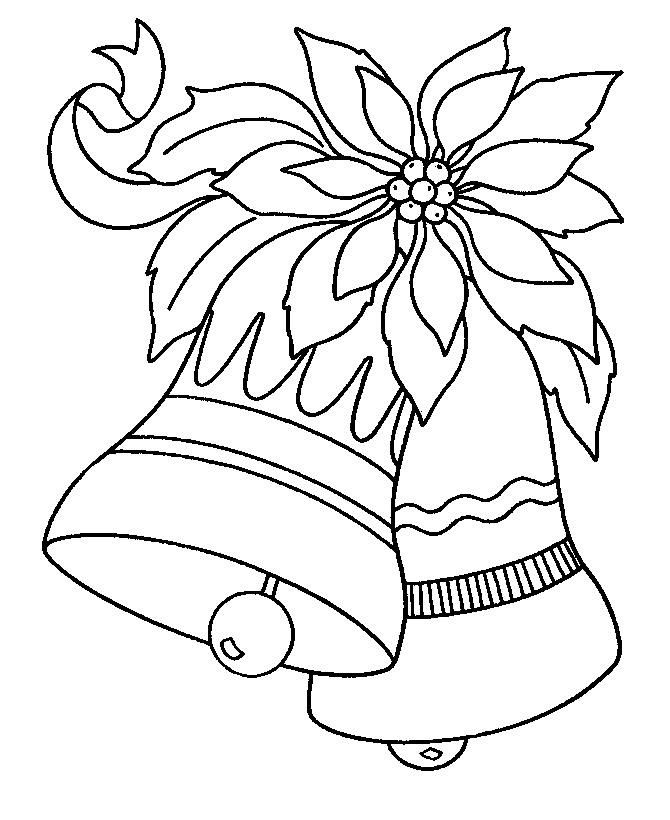 670x820 Christmas Bells Coloring Page