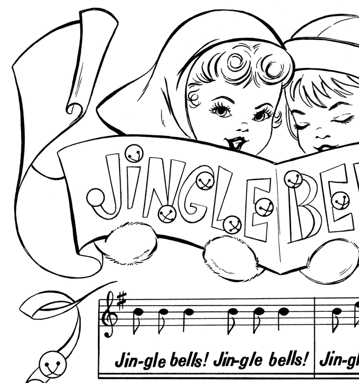Christmas Bells Coloring Pages At Getdrawings Com Free For