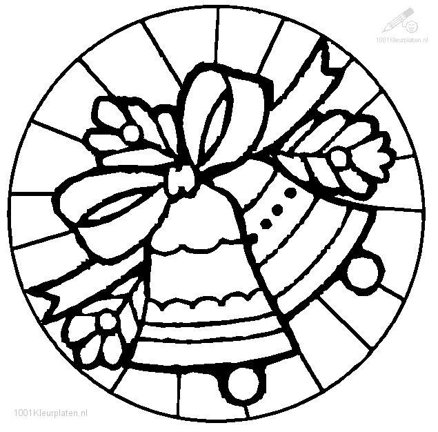 635x626 Christmas Bells Coloring Pages Holidays And Observances