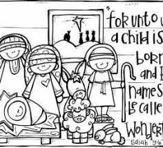 236x214 Christmas Sunday School Coloring Pages Sunday School Christmas