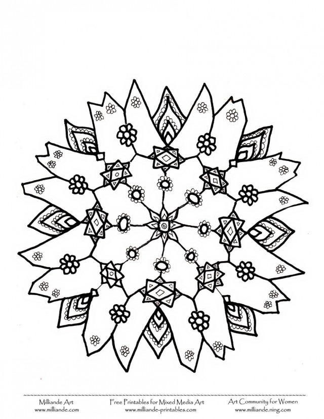 640x828 Christmas Bow Coloring Page