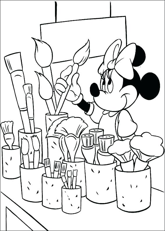 567x794 Christmas Bow Coloring Page