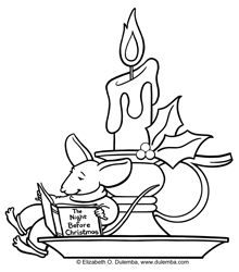 220x250 Coloring Page Tuesday