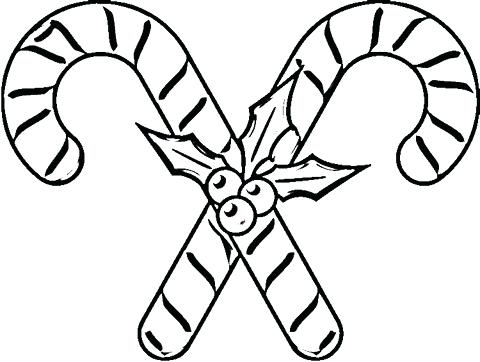 480x362 Candy Cane Coloring Pages Candy Coloring Pages Candy Cane Coloring
