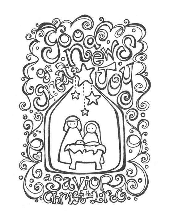 550x712 Christmas Printable Coloring Pages Free Printable Christmas