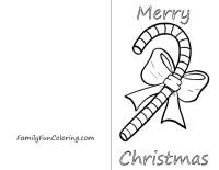 200x155 Free Printable Christmas Cards To Color Fun For Christmas
