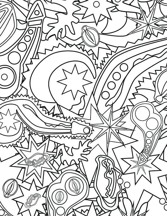 570x738 Free Printable Coloring Christmas Greeting Cards Printable