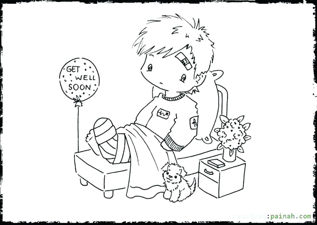 1024x728 Get Well Soon Printable Coloring Cards Get Well Soon Coloring