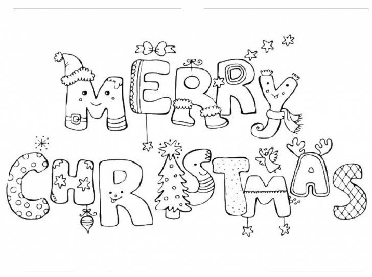 728x542 Best December Coloring Images On Christmas Crafts