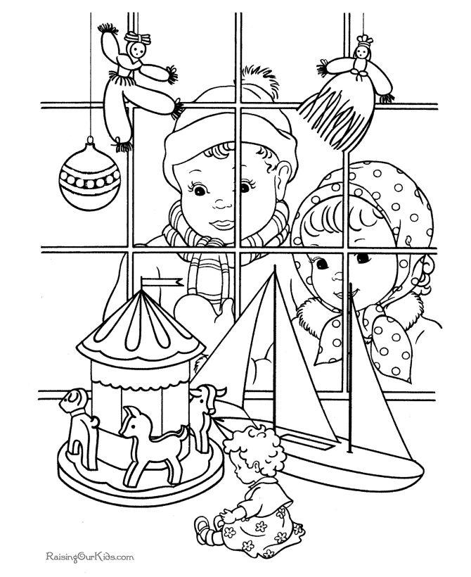 670x820 Printable Victorian Christmas Coloring Sheets Victorian Christmas