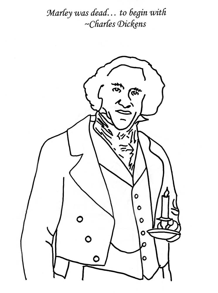 Christmas Carols Coloring Pages