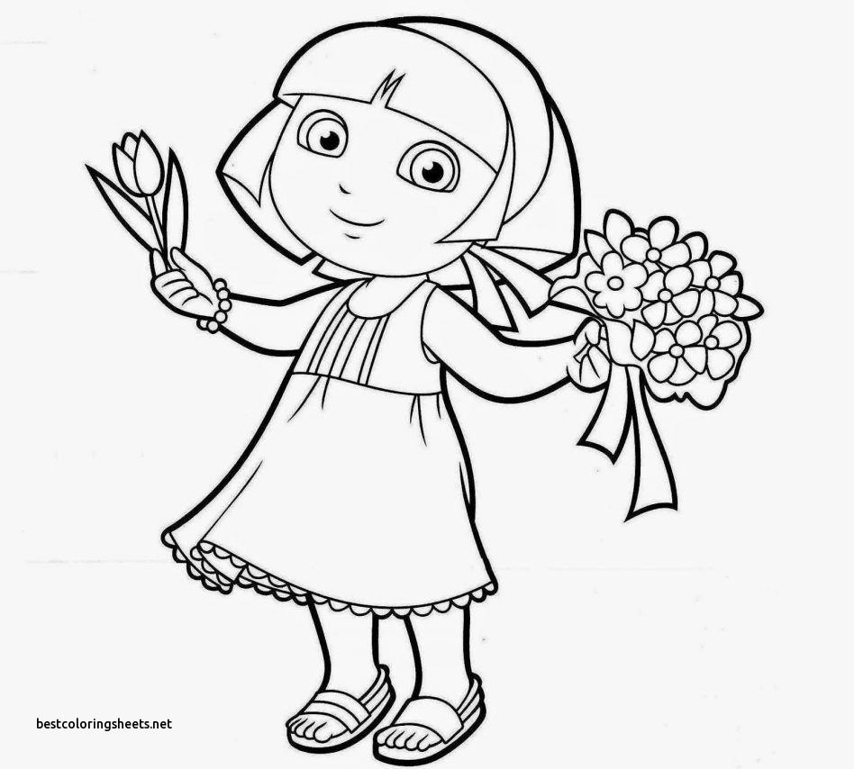 948x854 Dora Christmas Carol Adventure Coloring Pages New Dora Christmas