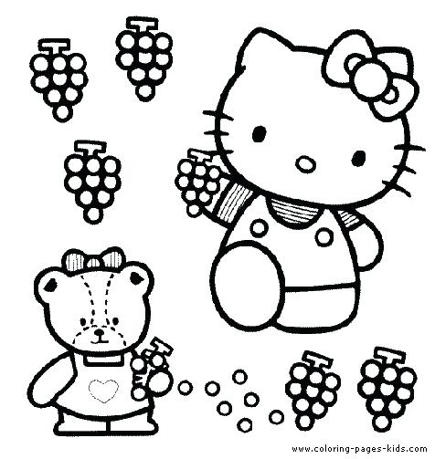 476x503 Hello Kitty Christmas Coloring Pages Imprimir En Letra Gratis