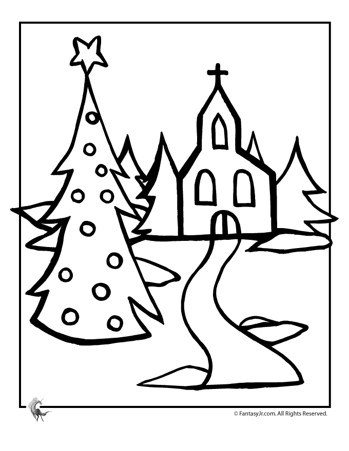 680x880 Church Coloring Pages Fresh Christmas Church Coloring Page Woo Jr