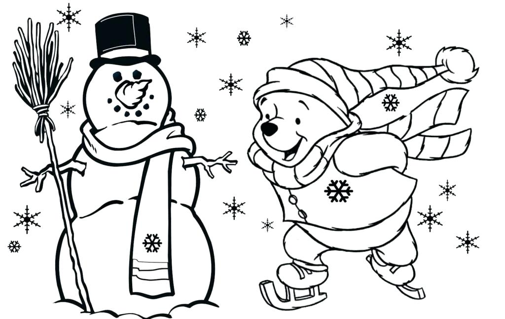 1024x647 Free Printable Christmas Coloring Pages For Toddlers Church