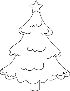 231x300 Free Free Christmas Tree Clip Art Image