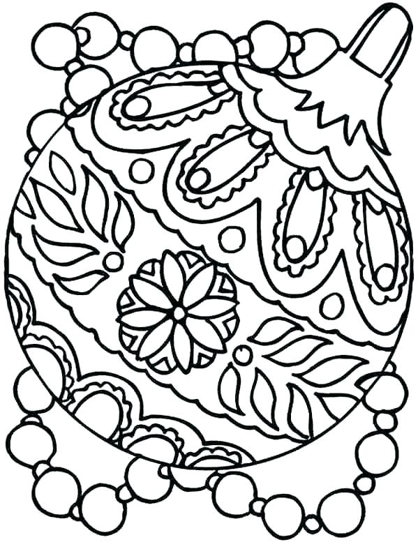 599x777 Amazing Free Christmas Coloring Pages For Kids Printable