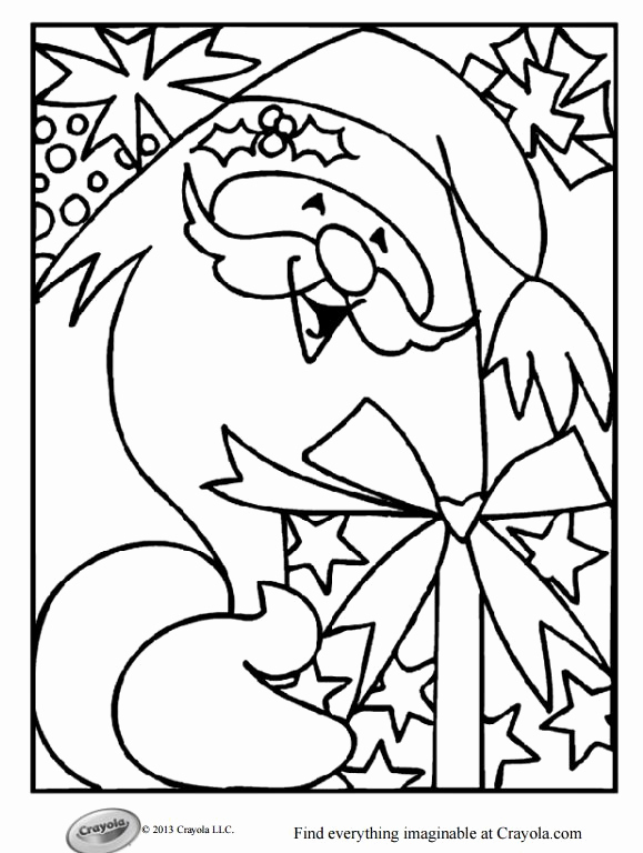 Christmas Coloring Pages Animals