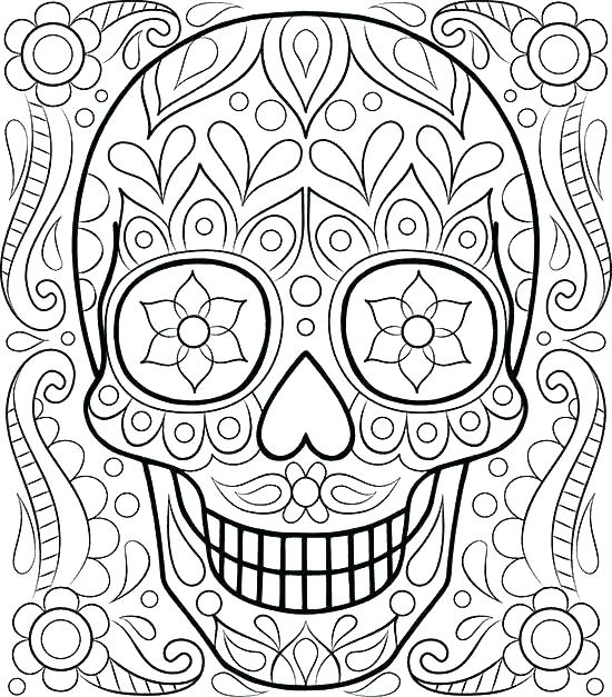 550x627 Free Printable Christmas Coloring Pages For Adults Only