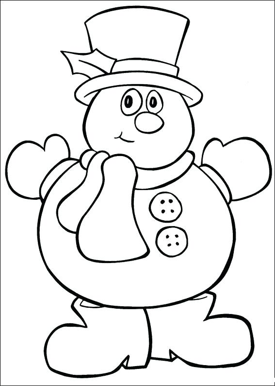 567x794 Christmas Coloring Pages For Kids Coloring Pages Kids Color Pages