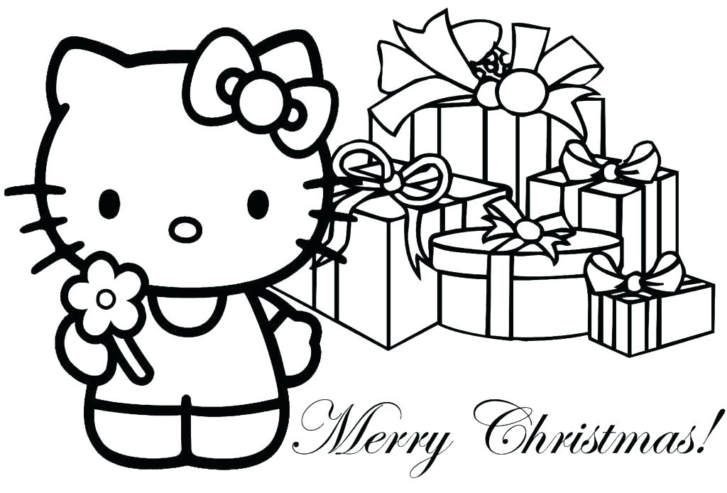 1024x694 Christmas Coloring Pages For Kids Plus Preschool Coloring Pages