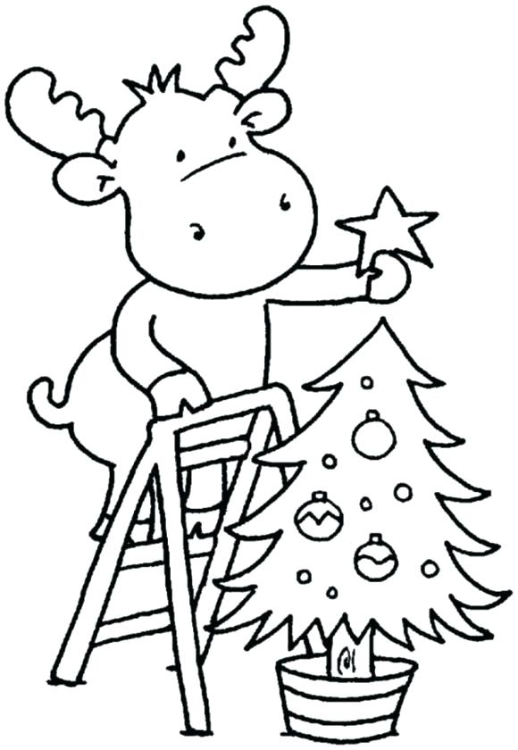 580x840 Nativity Christmas Coloring Pages
