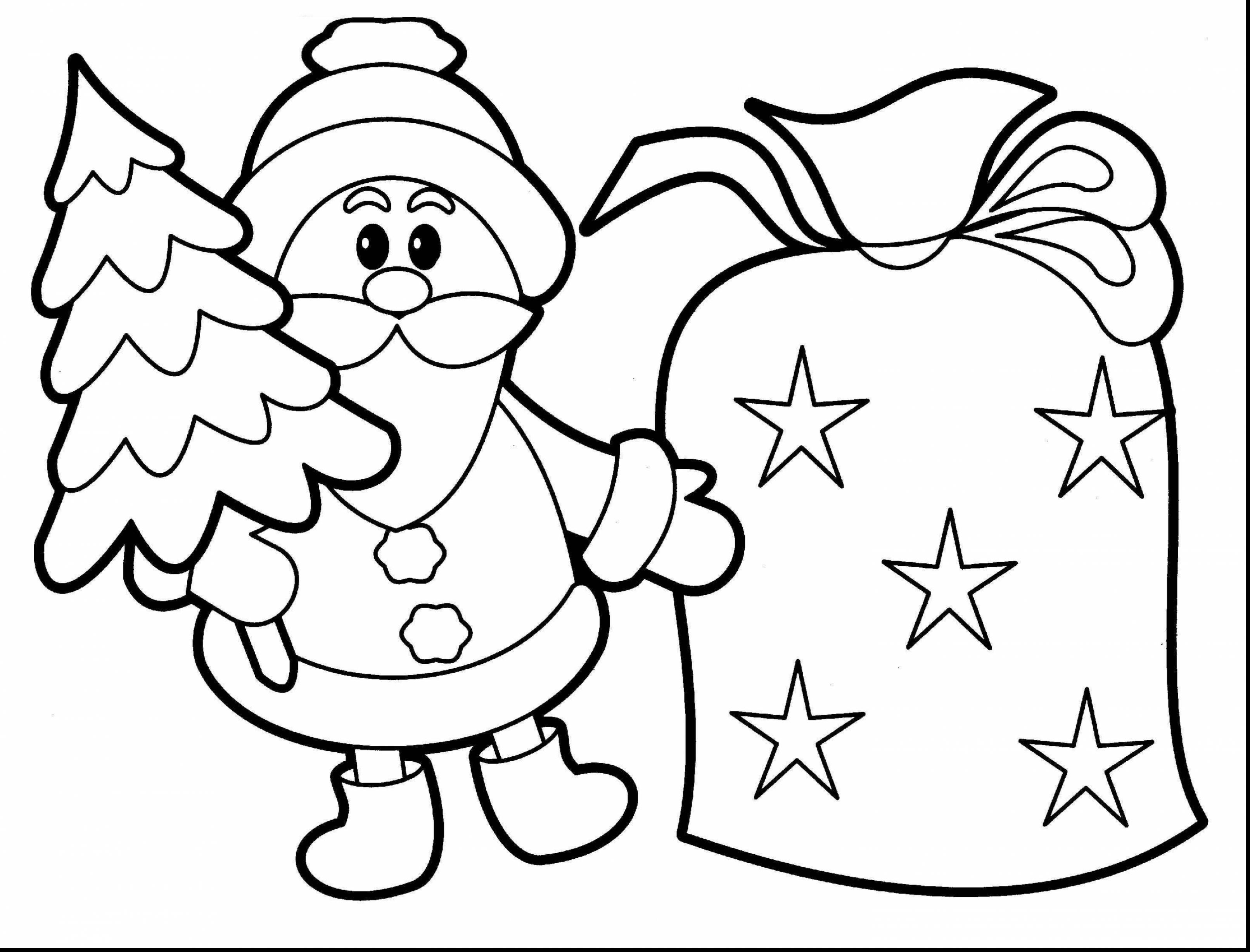 3223x2455 Santa Claus Christmas Coloring Pages For Kids Elegant Santa Claus