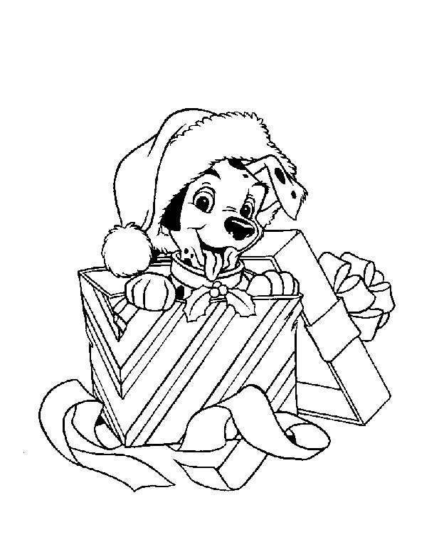 610x755 Walt Disney Christmas Coloring Pages