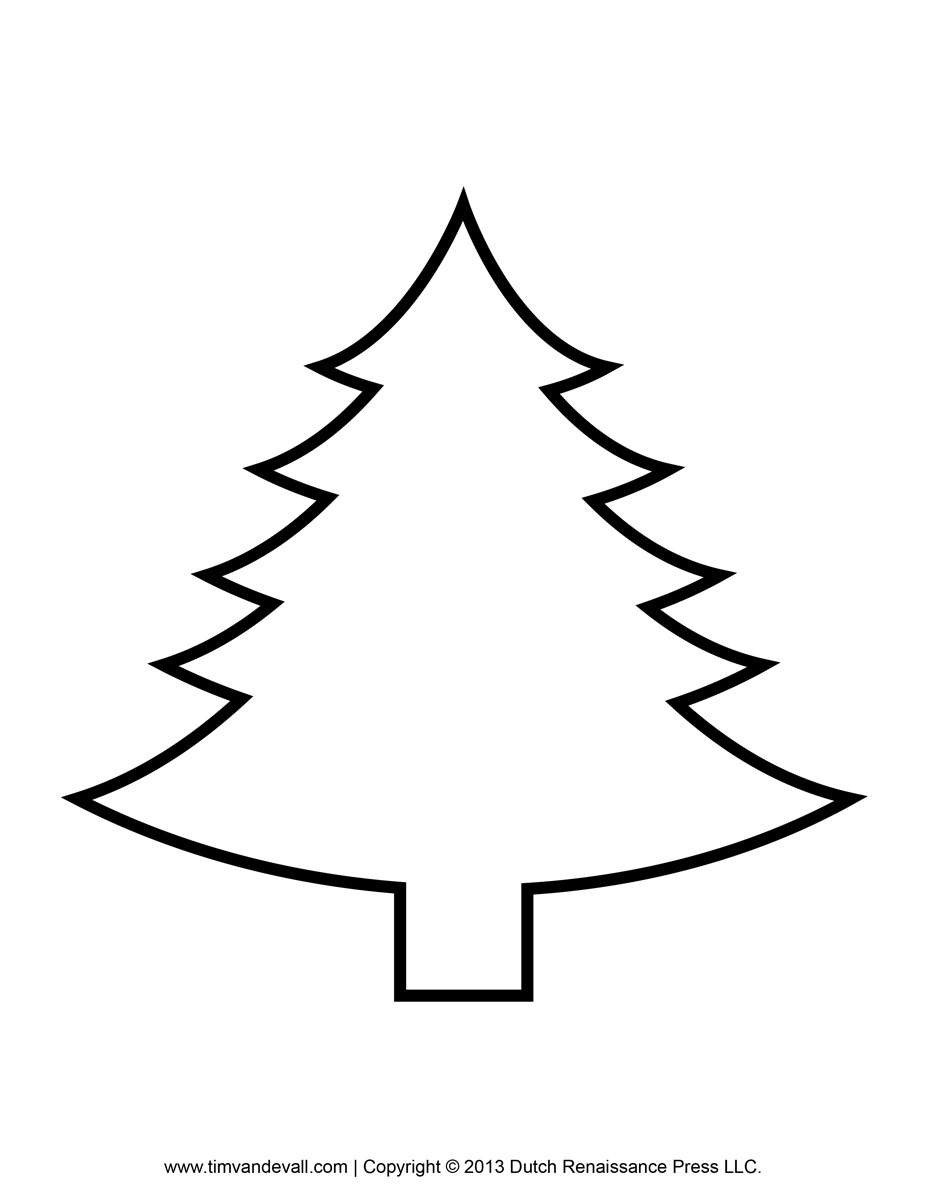 927x1200 Christmas Trees Printables