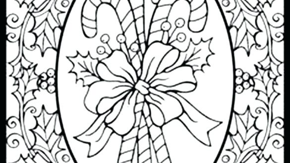 585x329 Difficult Christmas Coloring Pages Difficult Coloring Pages