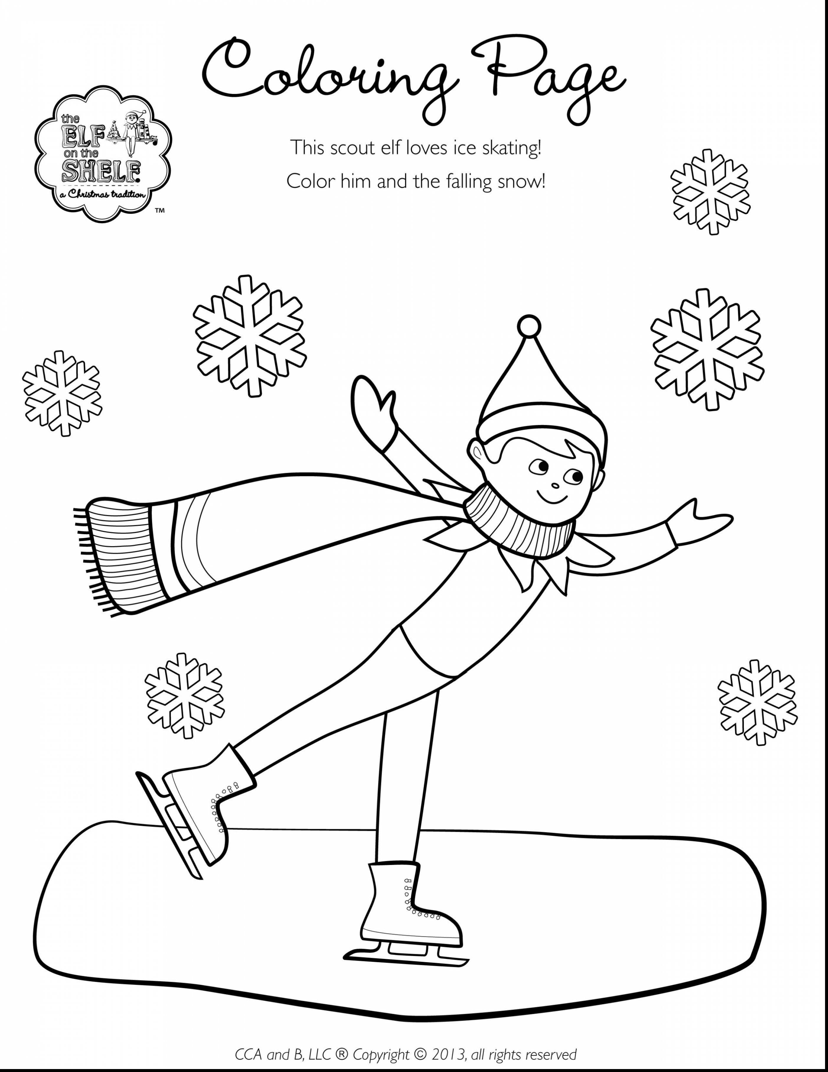 2805x3630 Fresh Girl Elf The Shelf Coloring Pages Christmas Coloring Pages
