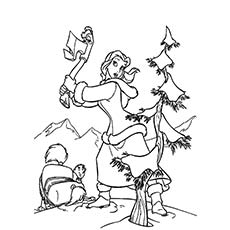 230x230 Top Free Printable Christmas Tree Coloring Pages Online