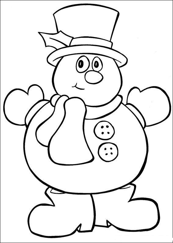 567x794 Christmas Coloring Pages Kids Christmas Color Pages For Kids