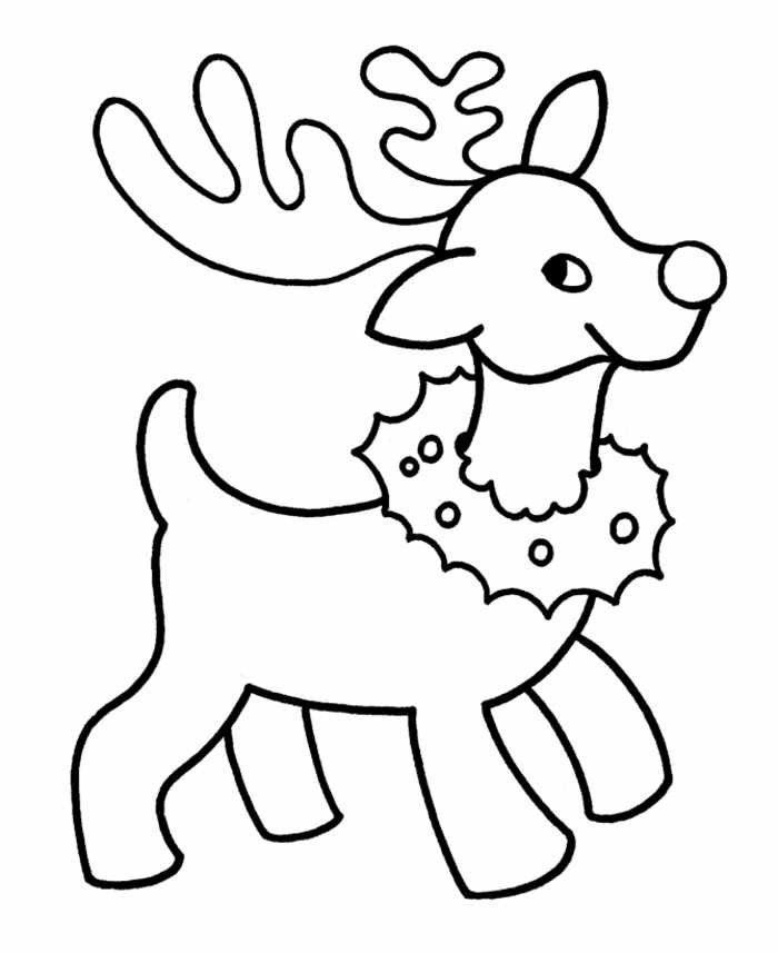 700x857 Christmas Colouring For Preschoolers