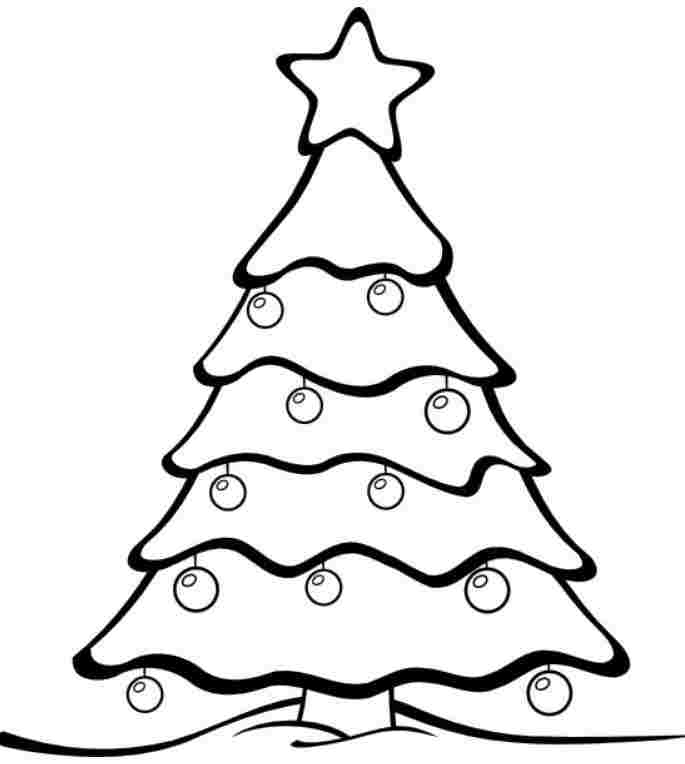 685x764 Preschool Christmas Coloring Pages Christmas