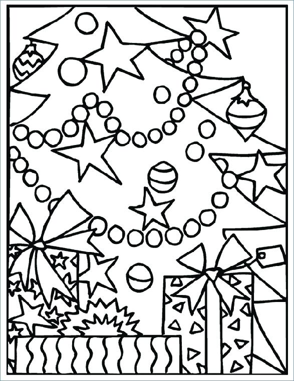 587x762 Coloring Kindergarten Christmas Coloring Pages For Students