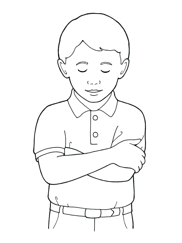728x971 Little Kid Coloring Pages Also Little Boy Coloring Pages Little