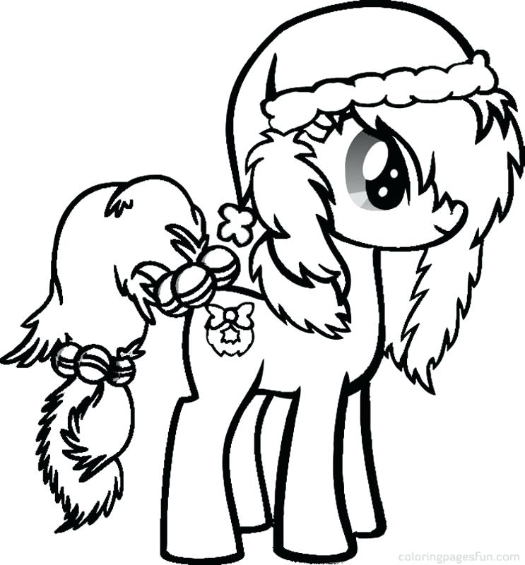 743x800 Rainbow Dash Christmas Coloring Sheets
